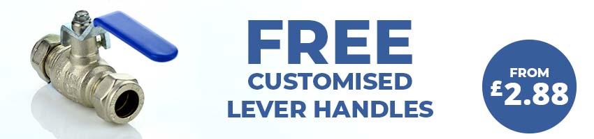 Compression Custom Lever Brass Ball Valves