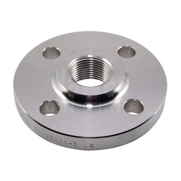 316L Stainless Steel BSPT Threaded Flange - PN16