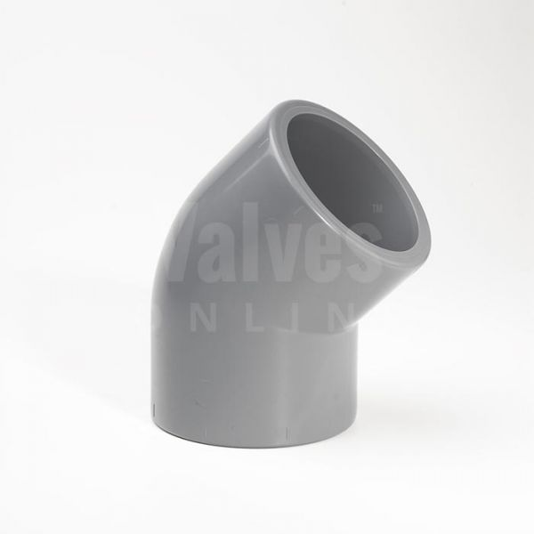 ABS 45° Imperial Inch Elbow
