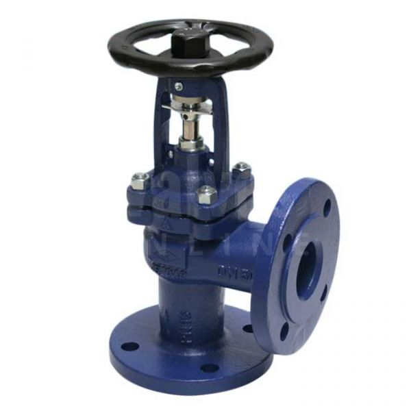 ARI FABA Plus Angle Pattern Bellows Sealed Globe Valve