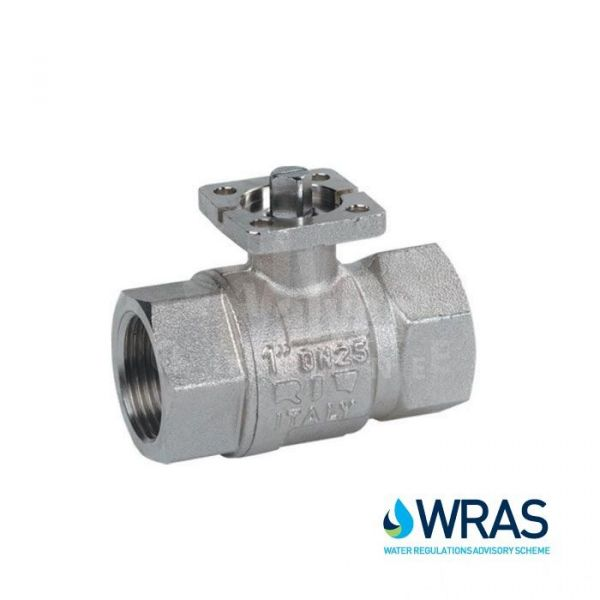 Brass Ball Valve DM WRAS Approved