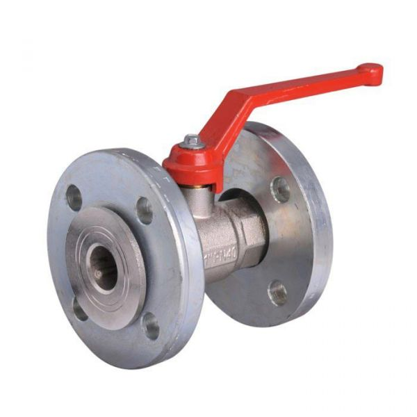 Brass Ball Valve Flanged Lever Operated