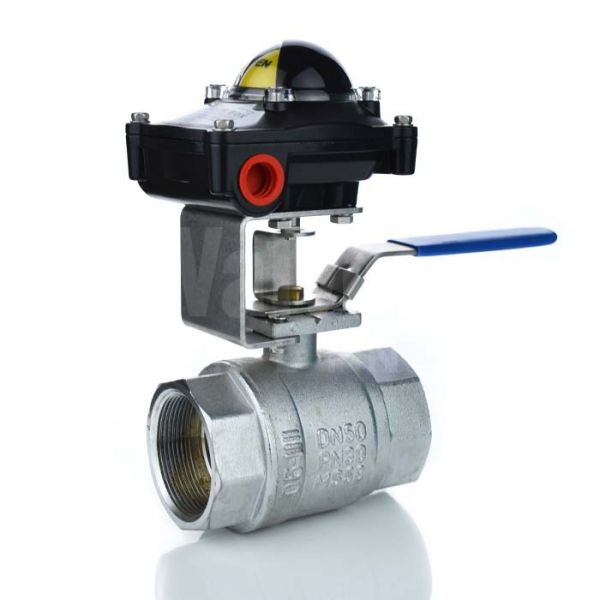 Brass Manual Ball Valve with Limit Switchbox