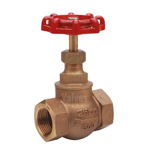 Bronze Globe Valve SDNR PN25 Screwed BSPP