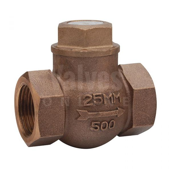 PN32 Bronze Screwed Horizontal Lift Check Valve