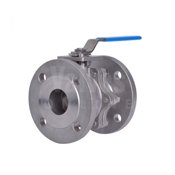 High Temperature Direct Mount Flanged ANSI 150 Steam Ball Valve