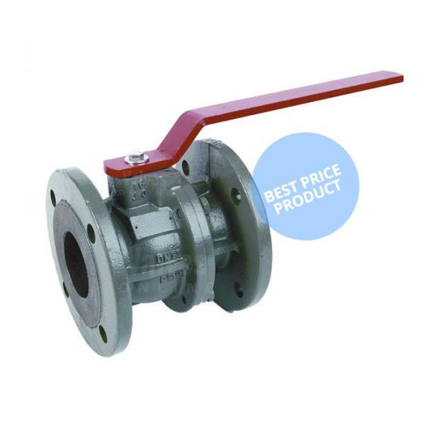 Cast Iron Ball Valve Economy Flanged PN16