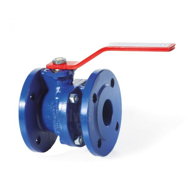 Cast Iron Ball Valve Flanged Direct Mount ANSI 150