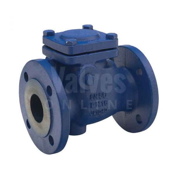Cast Iron Swing Check Valve Flanged PN16 - Metal Seat