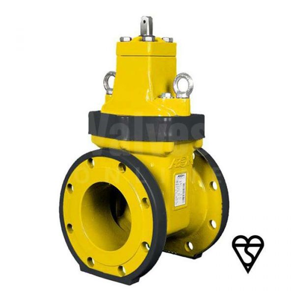 Ductile Iron Gate Valve Gas Approved BSI V7 Double Block & Bleed Type B