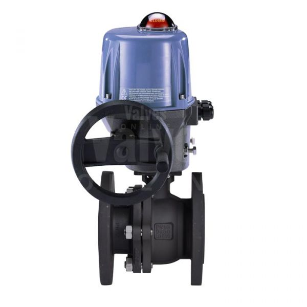 Electrically Actuated Carbon Steel PN16 Ball Valve