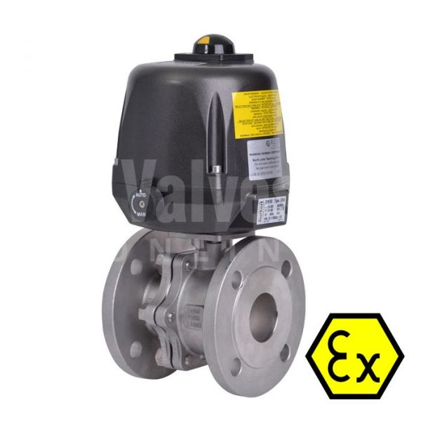 ATEX 90D Electric Actuated ANSI 300 Ball Valve