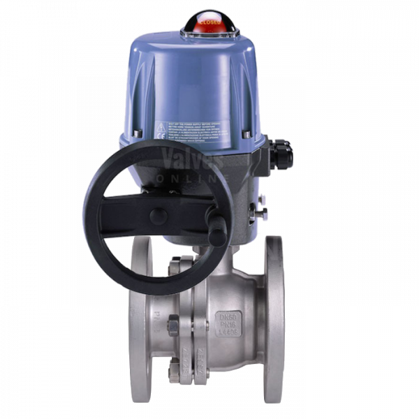 Electrically Actuated Stainless Steel #150 Ball Valve