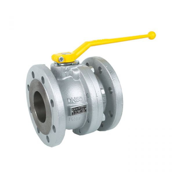 Ductile Iron Ball Valve Gas Approved EN331 Flanged PN16