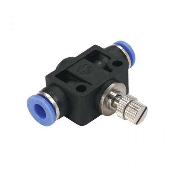 Polymer Flow Control Valve In-line Fitting