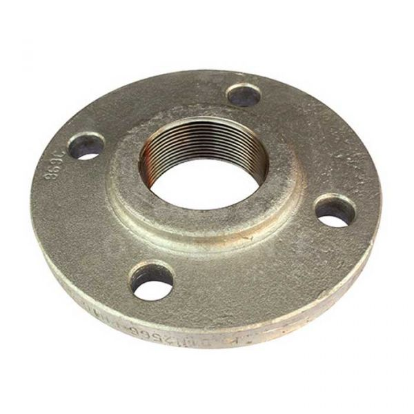 Forged Steel BSPP Flange - PN16 - 16/4 - Galvanised