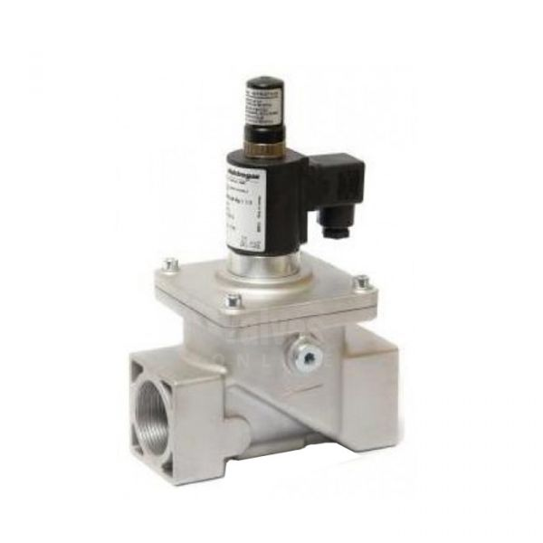 Gas Solenoid Valve Manual Reset 2 Way EN161 3/8