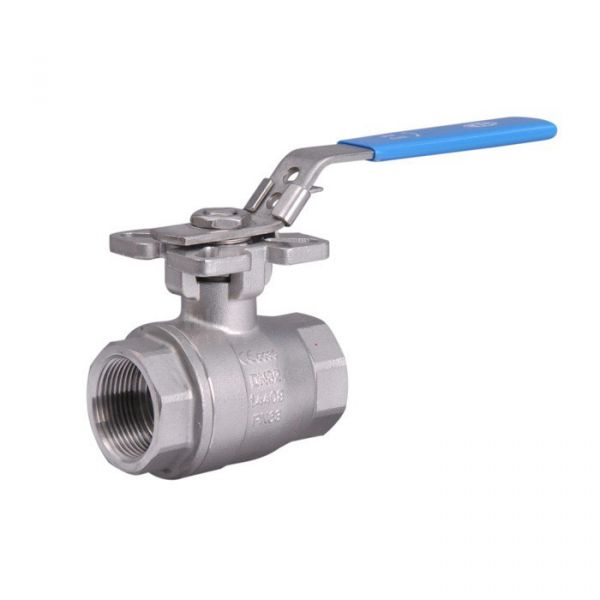 2 Piece Heavy Duty Stainless Steel Ball Valve