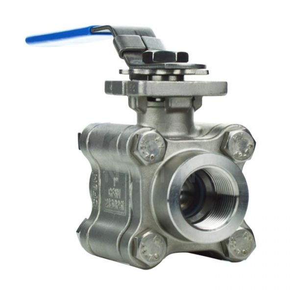 3 Piece Heavy Duty Ball Valve for High Temperature Duty