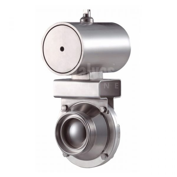 Inoxpa 6400 Hygienic Ball Valve with Pneumatic Actuator