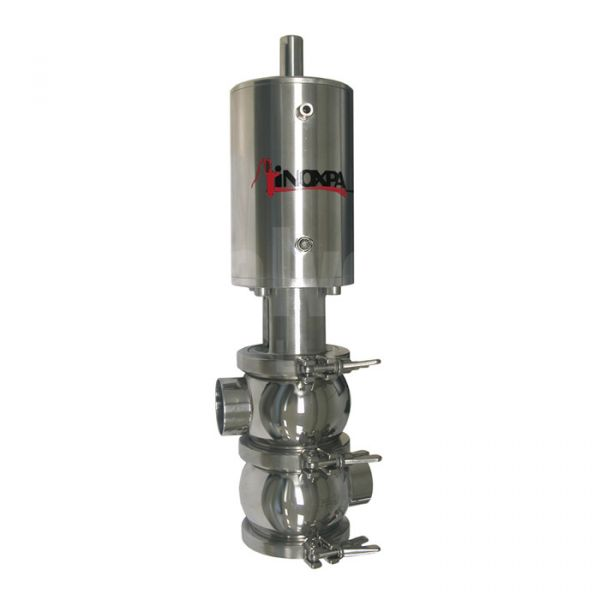Inoxpa 'NL' Type Single Seat Valve with Single Acting Pneumatic Actuator