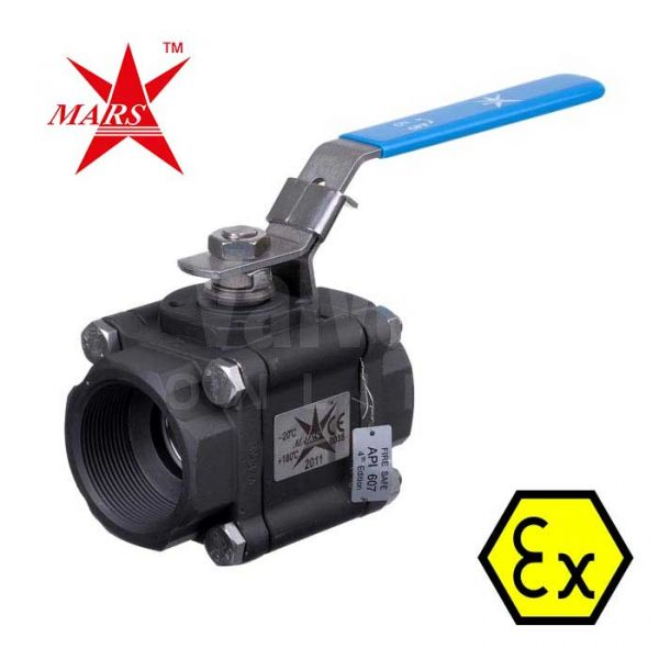 Mars Ball Valve Series 83 Fire Safe Anti Static Carbon Steel