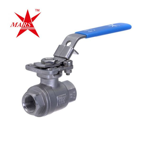 Mars Ball Valve Series 22 2 Piece Full Bore Stainless Steel Ball Valve