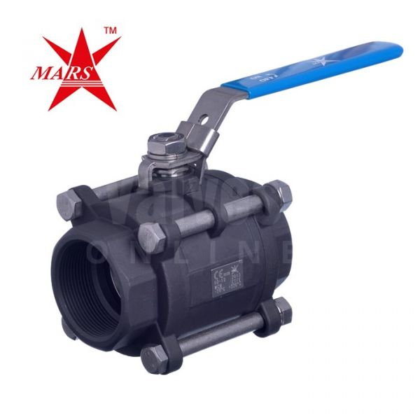 Mars Ball Valve Series 50 3 Piece Full Bore Carbon Steel