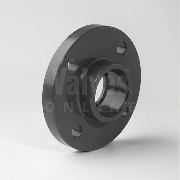 PVC Imperial Inch Solvent Full Face Flange PN10/16