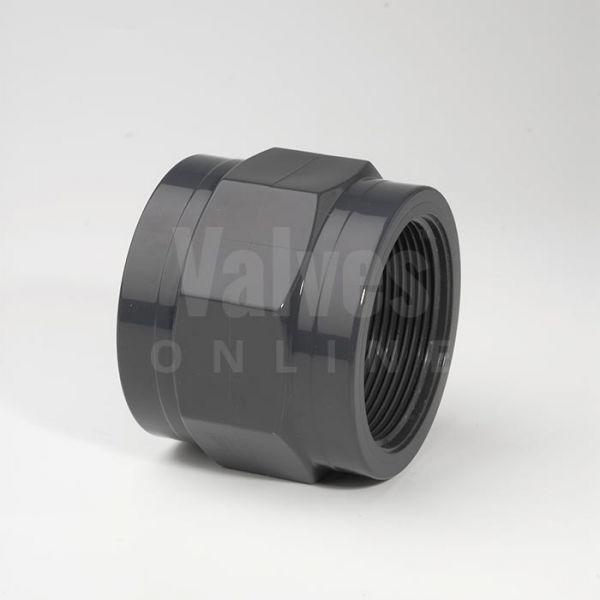 PVC Imperial Inch x Threaded Adaptor Socket