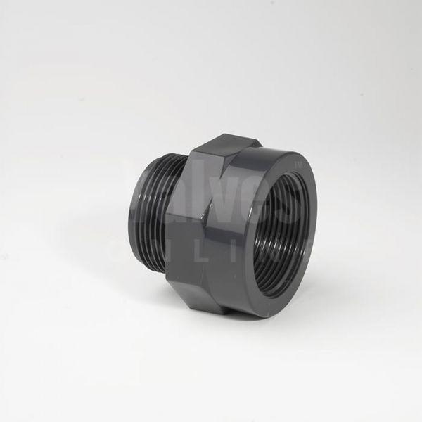PVC Male x Female Threaded Adaptor Piece
