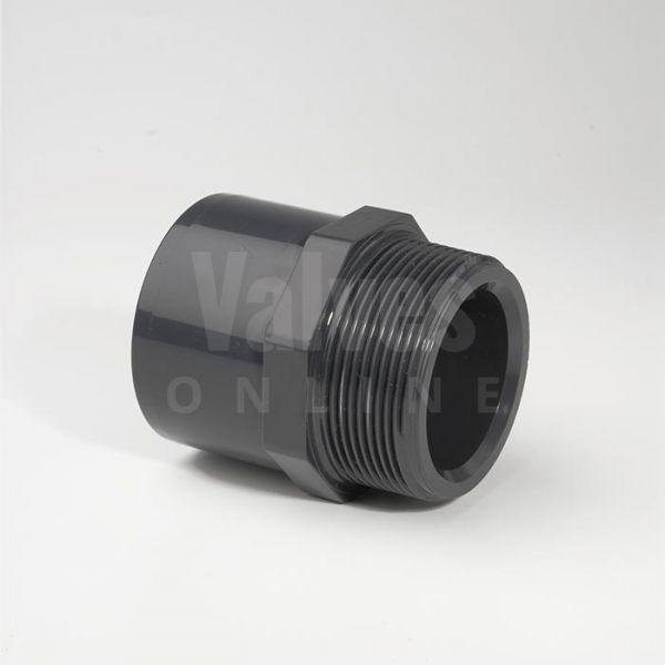 PVC Metric x Male Threaded Adaptor