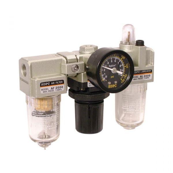 Pneumatic Filter, Regulator, Lubricator Set