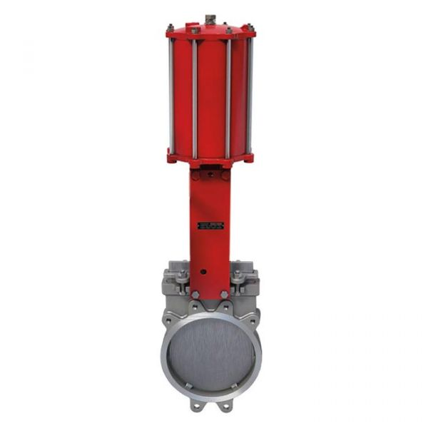 Pneumatic Operated Bray/VAAS Wafer PN10 Uni-Directional Knife Gate Valve