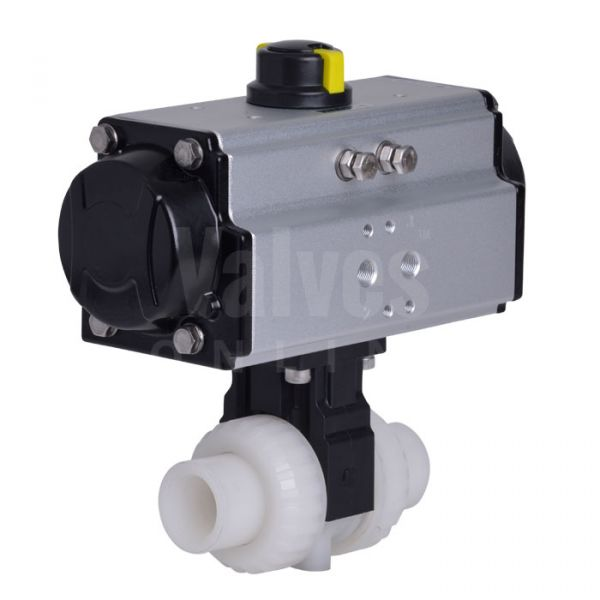 Extreme Pneumatic Actuated Ball Valve PVDF Body
