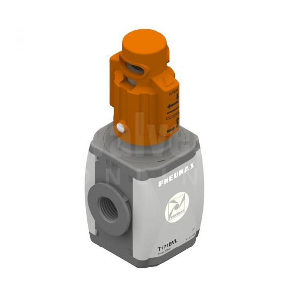 Pneumax AIRPLUS Lockable Shut Off Valve