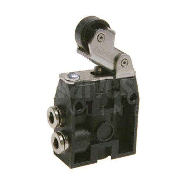 Series 104 Plastic Lever Roller-Spring Valve 3/2 - 4mm