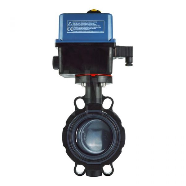 PVC Butterfly Valve with Electric Actuator