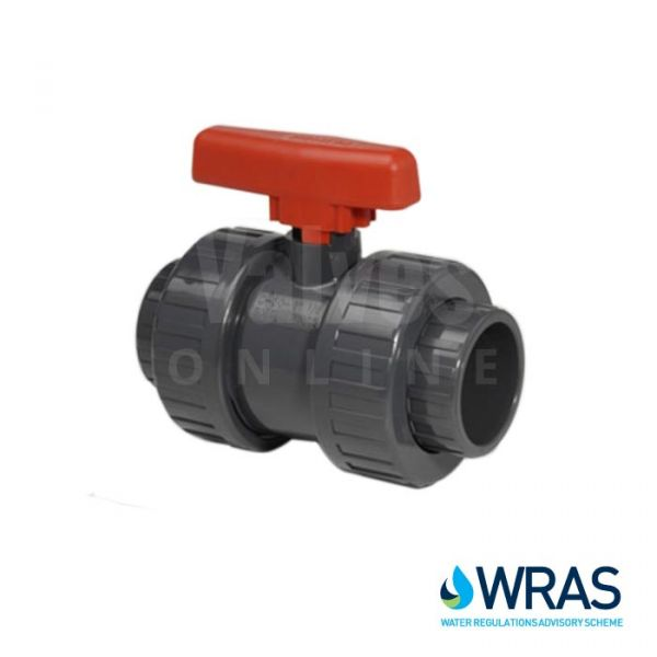 WRAS Approved PVC Double Union Ball Valve