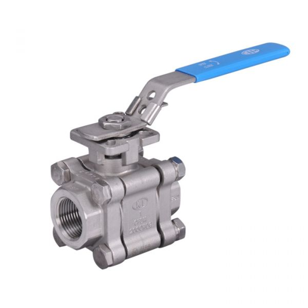 Stainless Steel Ball Valve 3 Piece Heavy Duty Full Bore