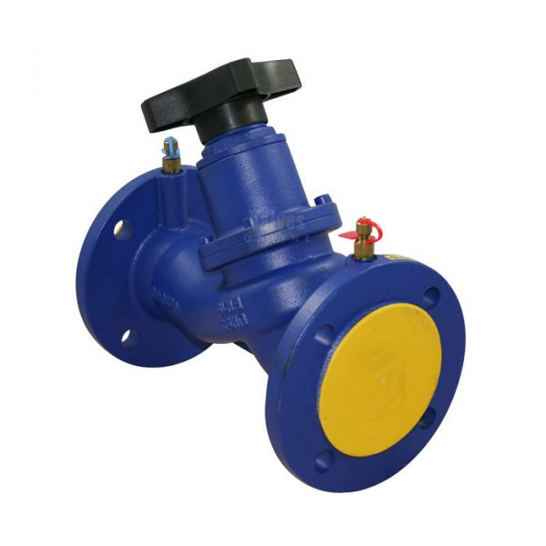 Double Regulating Balancing Valve Variable Orifice Flanged PN16