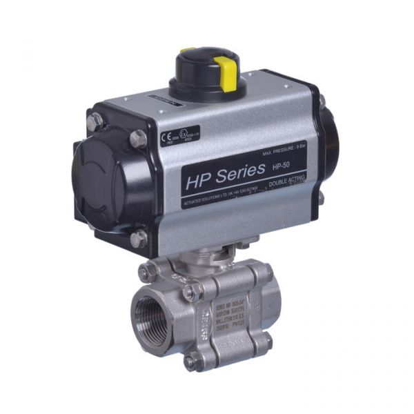 Pneumatic Actuated Series 88 Heavy Duty Ball Valve