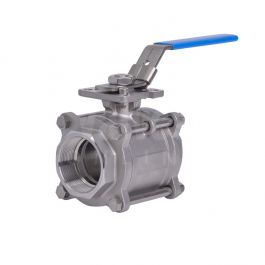 3 Piece Full Bore Direct Mount Ball Valve With Tfm1600
