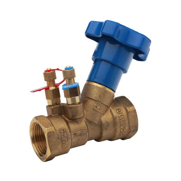 Double Regulating Valve Fixed Orifice Screwed BSPP
