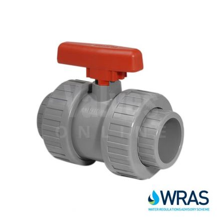 WRAS Approved ABS Double Union Ball Valve