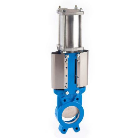 Cast Iron Actuated Knife Gate Valve