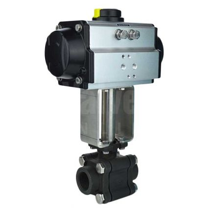 Air Operated Carbon Steel Steam Duty Ball Valve