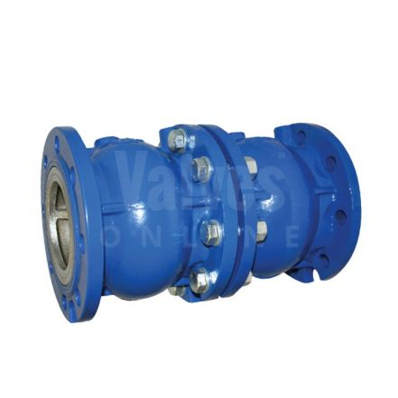 Axial Disc Double Check Valve