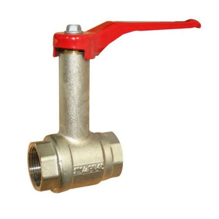 Brass Ball Valve with Fixed Extension Neck