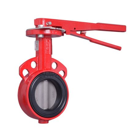 Bray Series 30 Cast Iron Wafer Butterfly Valve